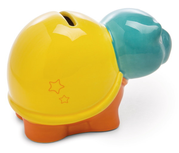 """Savings box turtle """"voll bin ich am liebsten"""""""