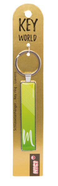 Schlüsselanhänger Key World 'M'