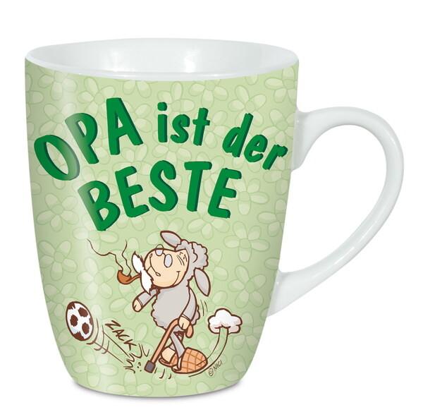 """Porzellantasse """"Opa ist der Beste"""""""