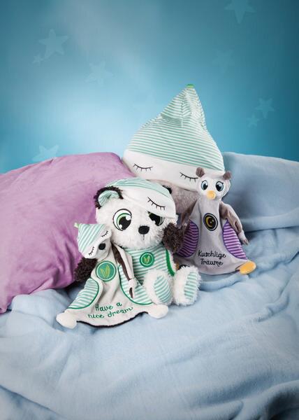 """Comforter Schlafmützen bear Pandalino """"Have a nice dream"""""""