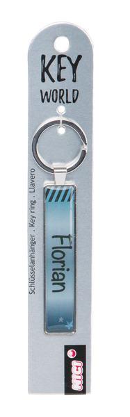 Schlüsselanhänger Key World 'Florian'