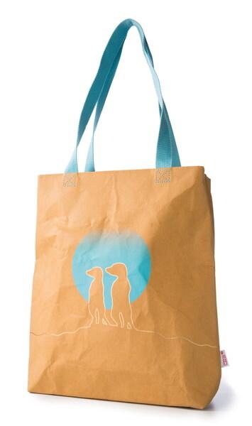 Vegan leather shoulder bag NICI Meerkat