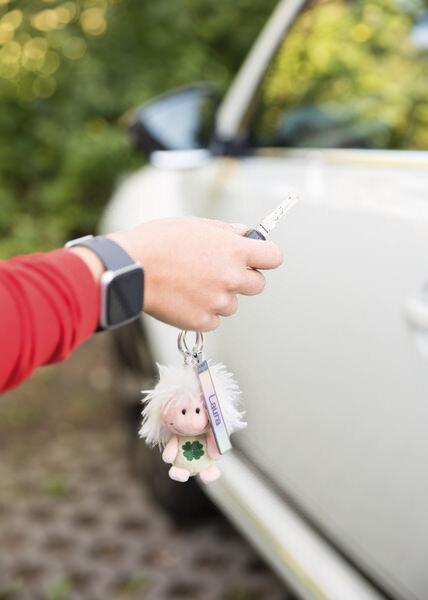 Keyring Key World 'Laura'