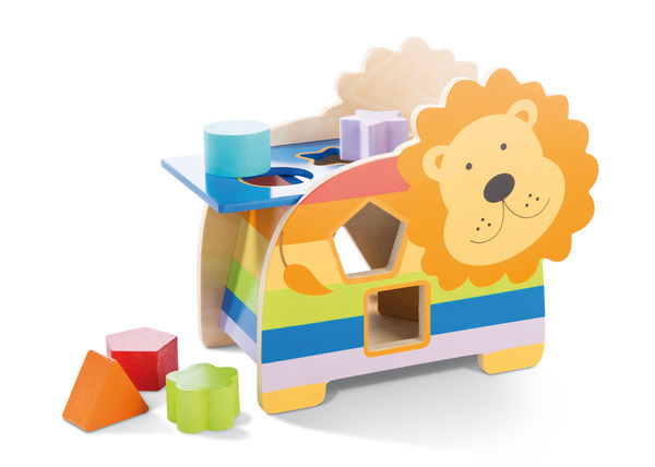 Shape Sorter Lion