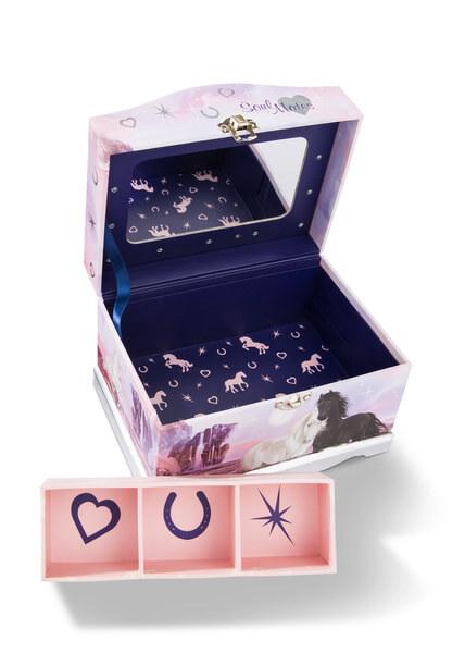 Schmuckbox mit LED Lichtern Soulmates Mystery Hearts