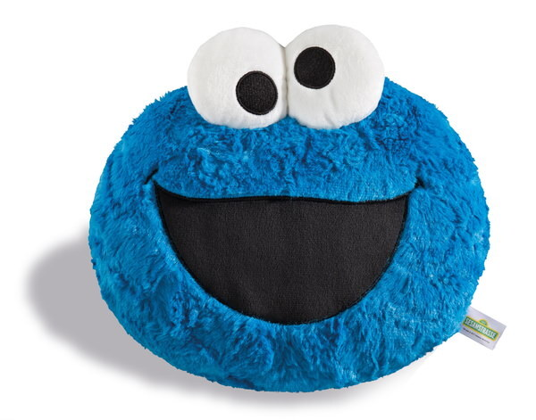 Figural cushion Sesame Street with Cookie Monster