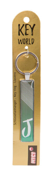 Schlüsselanhänger Key World 'J'
