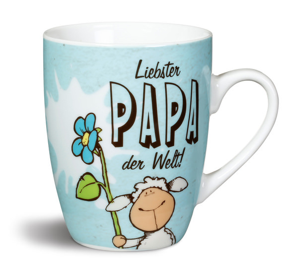 """Porzellantasse """"Liebster Papa der Welt!"""""""