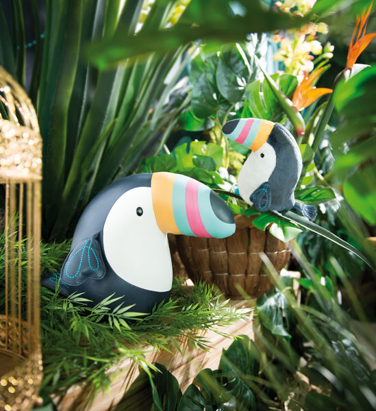 Toucan cuddly toy
