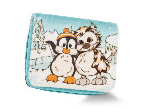 Purse penguin and owl