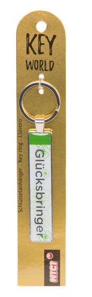 Schlüsselanhänger Key World 'Glücksbringer'