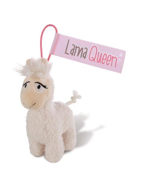 Anhänger Lama Lady mit elastischer Schlaufe