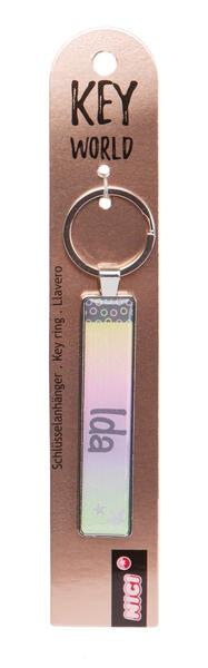 Schlüsselanhänger Key World 'Ida'