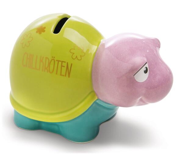 "Savings box turtle ""Chillkröten"""