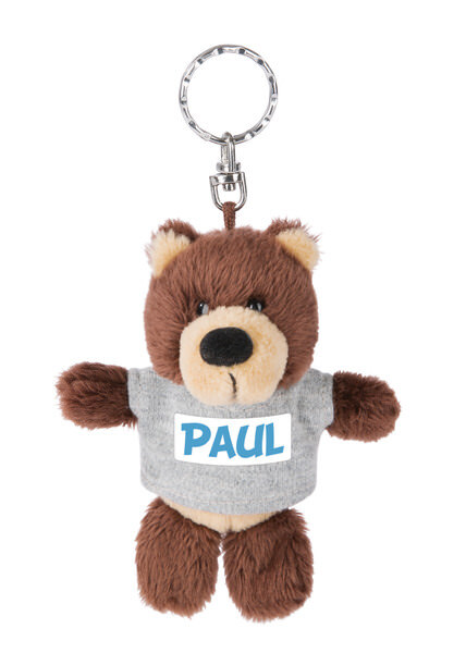 Keyring bear Paul