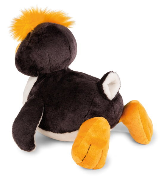 Lying cuddly toy penguin Frizzy
