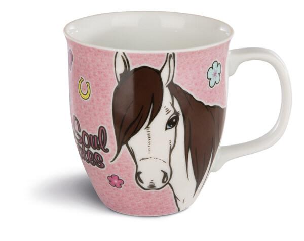 Porzellantasse Pferd Ayeta