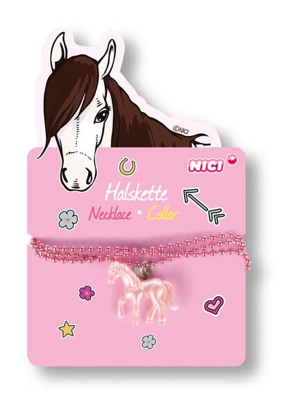 Halskette mit Pferdeanhänger
