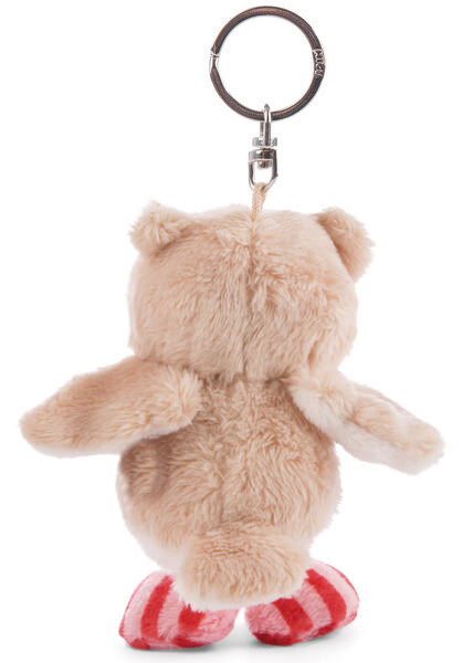 Key Ring Owl Owluna with turnable head