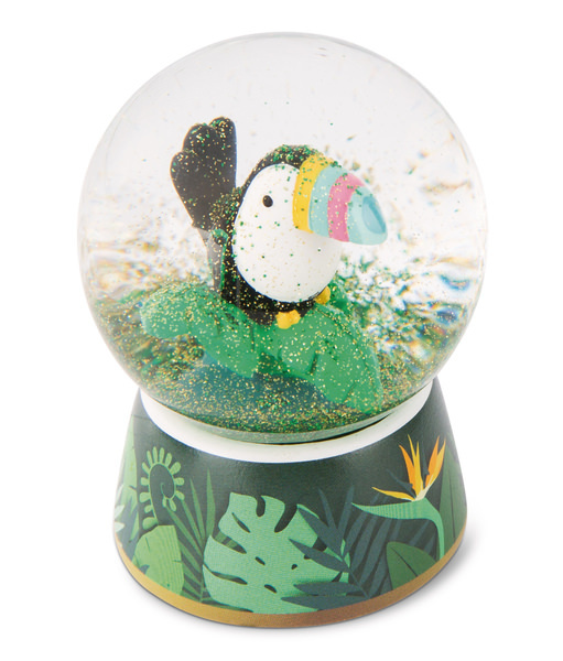 Glitter Globe Toucan