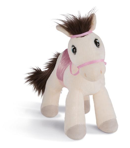 Kuscheltier Pferd Ayeta mit Zaumzeug und Sattel
