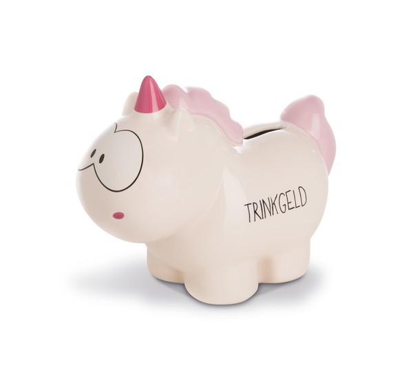 "Savings box unicorn Theodor ""Trinkgeld"""