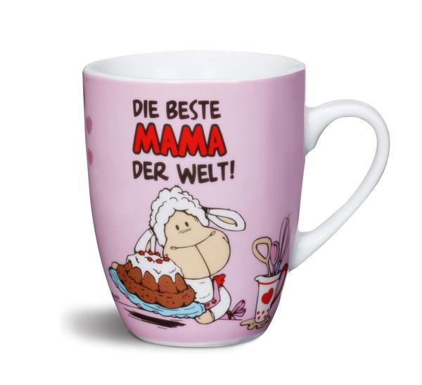 """Porzellantasse """"Die beste Mama der Welt!"""""""