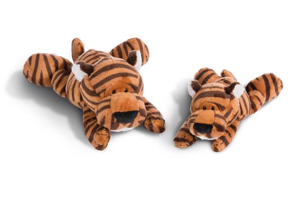 Lying cuddly toy tiger Balikou