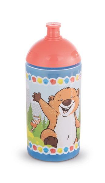 Trinkflasche mit Biber und Eichhörnchen