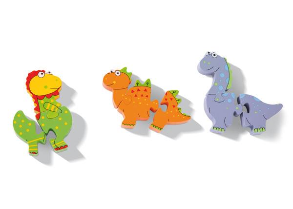 Mini Puzzle Set Dinosaur