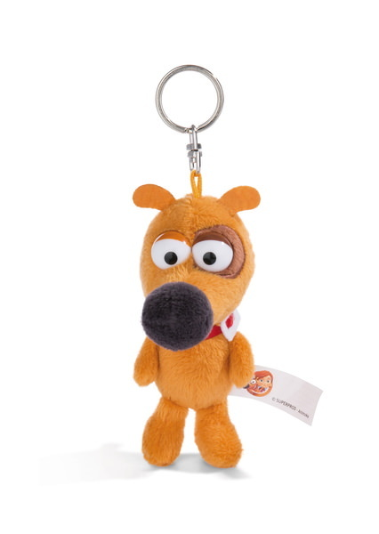 Keyring Pat the dog