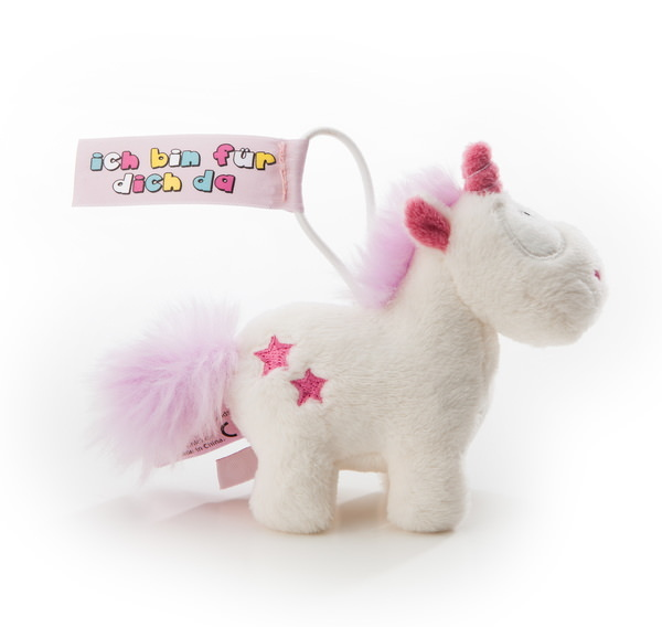 Pendant Theodor and Friends unicorn Theodor with loop