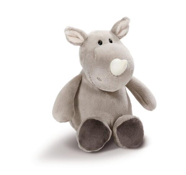 Cuddly toy rhino