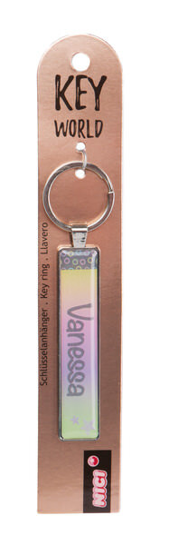 Schlüsselanhänger Key World 'Vanessa'