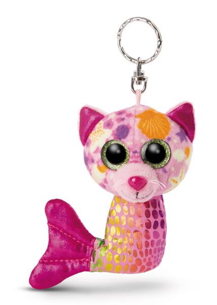 GLUBSCHIS Schlüsselanhänger Meerjungfrau Katze Aqua-Marie