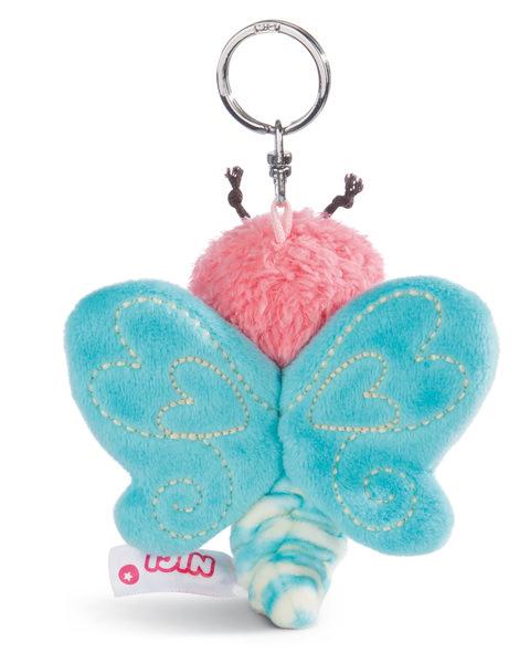 Schlüsselanhänger Schmetterling blau