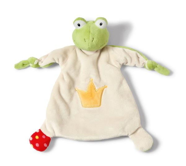 Schmusetuch Frosch