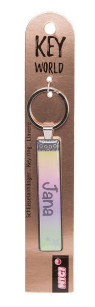 Schlüsselanhänger Key World 'Jana'