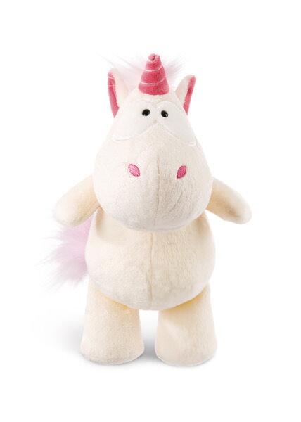 Cuddly toy Theodor dangling