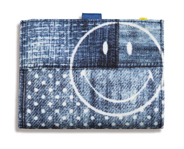 Purse Smiley in jeans-look