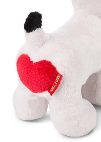 Stehendes Kuscheltier Love Hund