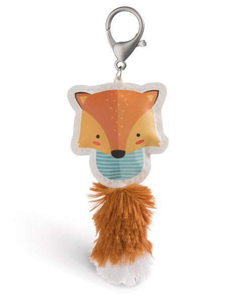 Taschenanhänger Guardian Animals Fuchs braun aus Kunstleder