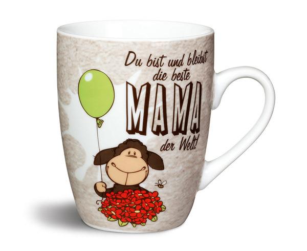 """Porzellantasse """"beste Mama der Welt!"""""""
