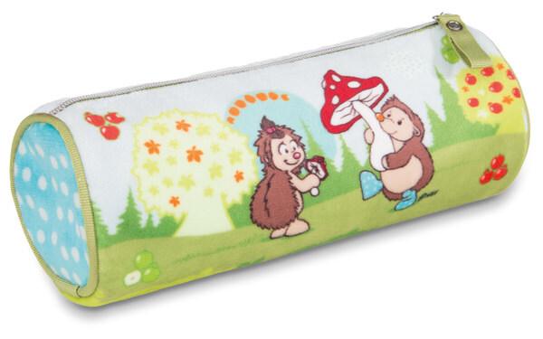 Stiftemäppchen Grizzlybär Criz Lee und Igel Hedda und Henny