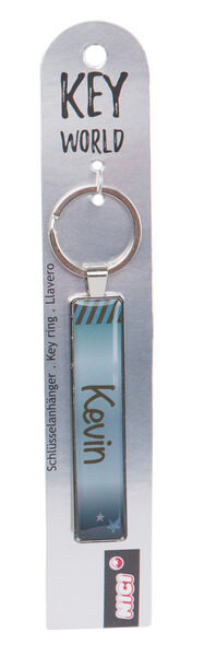 Keyring Key World 'Kevin'