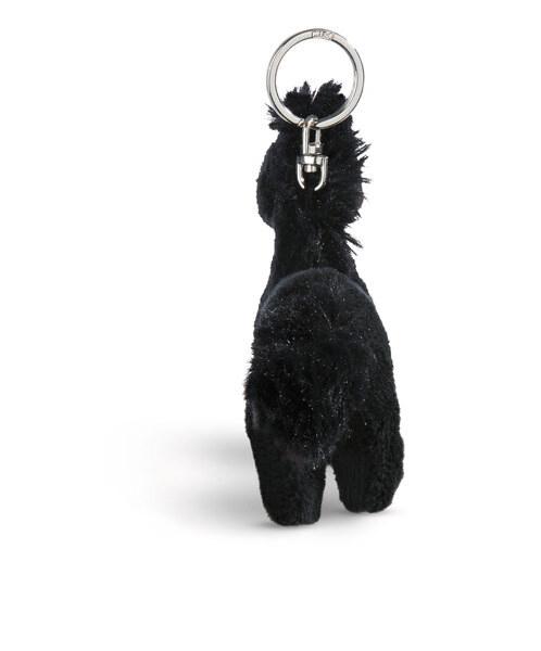 Schlüsselanhänger stehendes Pferd Black Cassis