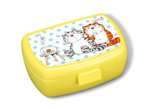 Lunch box Comic Cats