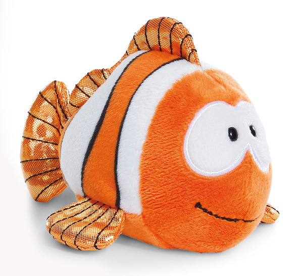 Lying Cuddly Toy Clown fish Claus-Fisch