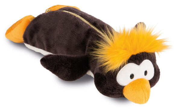 Pencil pouch in the shape of penguin Frizzy