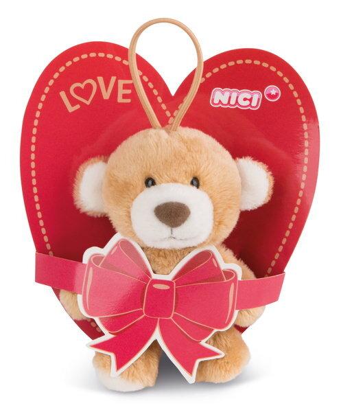 Anhänger Love Bär mit elastischer Schlaufe